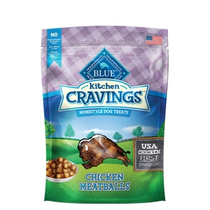 BLUE Kitchen Cravings™ Chicken Meatballs Dog Treats