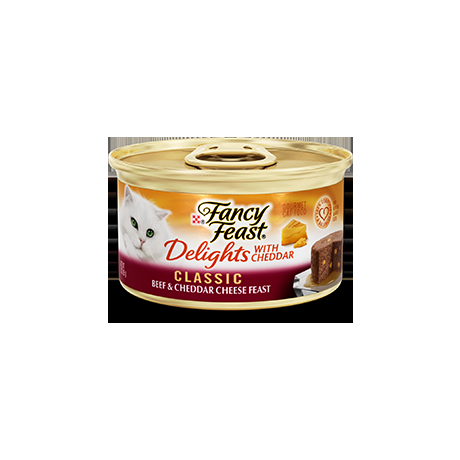Fancy Feast® Delights with Cheddar Cat Food