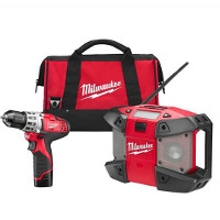 M12 Cordless Lithium-Ion 2-Tool Combo Kit