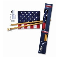 Valley Forge Flag Co. Flag Kit w/ Wooden Pole
