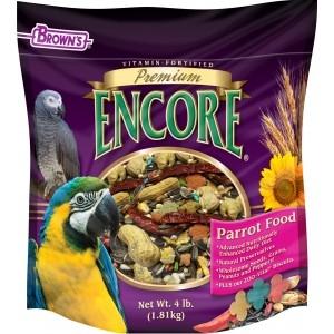 Brown's Encore® Premium Parrot Food 18lb