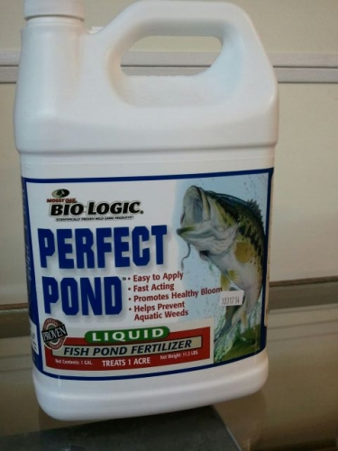 Co lin feed and seed biologic perfect pond liquid pond for Liquid fish fertilizer