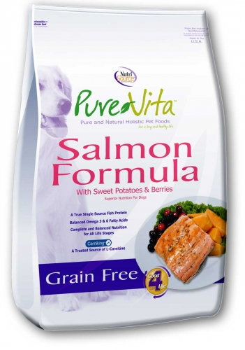 PureVita™ Salmon Grain Free Formula Dog Food