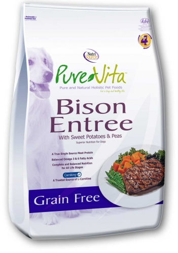 PureVita™ Bison Grain Free Entree Dog Food