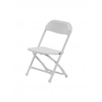 Folding Chair for Kids - White