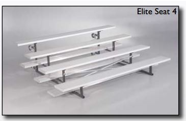 Bleacher Elite 4 Seater