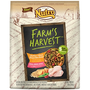 FARM'S HARVEST™ SMALL BREED ADULT DOG FOOD CHICKEN & WHOLE BROWN RICE RECIPE