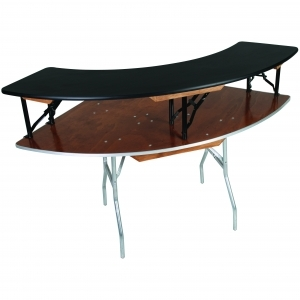 Bar Top with 6' Tablr & Bar Skirt
