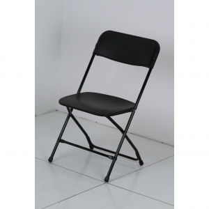 P.S. EventXpress Chairs - Black Seat/Back/Feet CH Frame