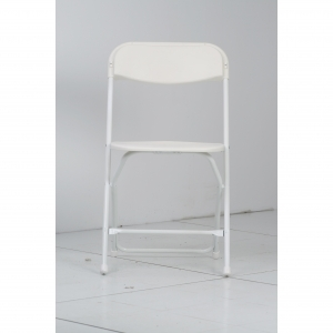 P.S. EventXpress Chairs - LRG White  Seat/Back/Frame/Feet
