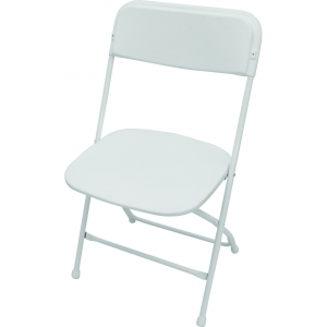 P.S. EventXpress Chairs - White  Seat/Back/Frame/Feet