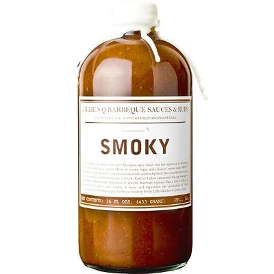 Lillie's Q Smoky Barbeque Sauce 16 oz.