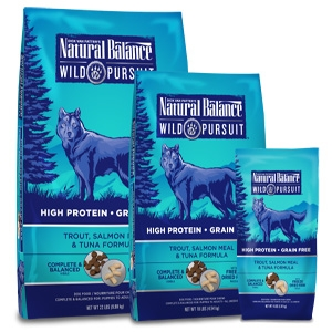 Wild Pursuit Trout, Salmon Meal & Tuna Dry Dog Formula