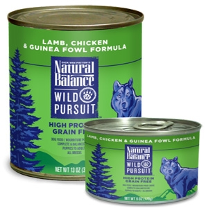 Wild Pursuit Lamb, Chicken & Guinea Fowl Canned Dog Formula