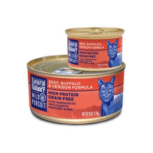 Wild Pursuit Beef, Buffalo & Venison Canned Cat Formula