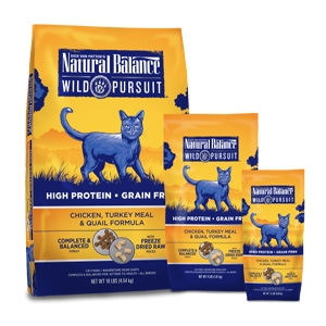 Wild Pursuit Chicken, Turkey Meal & Quail Dry Cat Formula