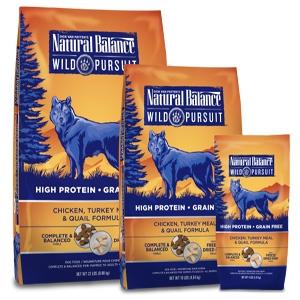 Wild Pursuit Chicken, Turkey Meal & Quail Dry Dog Formula