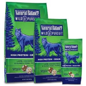Wild Pursuit Lamb, Chicken Meal & Guinea Fowl Dry Dog Formula