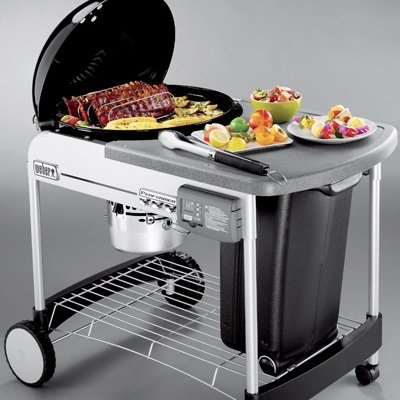 Weber 22 performer deluxe charcoal grill cofer 39 s home for Weber performer deluxe