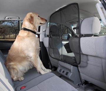 Solvit Front Seat Net Barrier