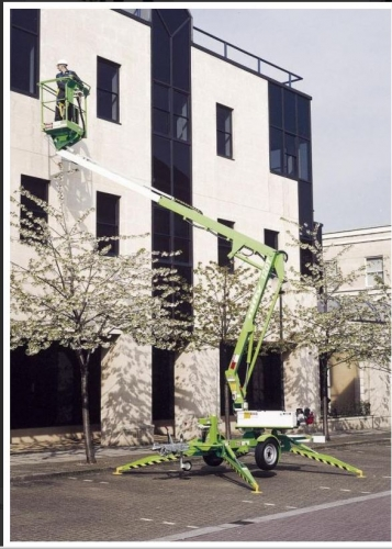 Trailer Mounted Cherry Picker