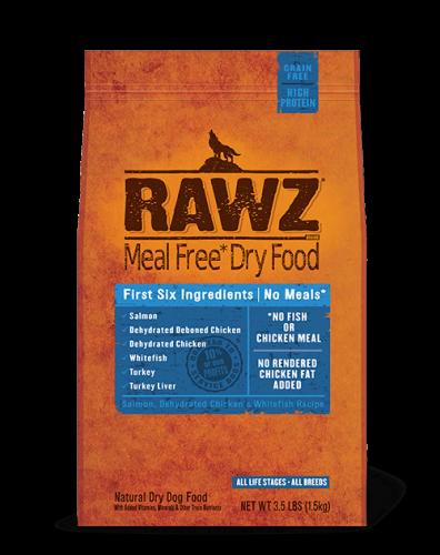 Rawz Salmon Dry Dog Food