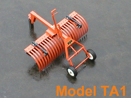 York Rake TA14-4' Rake