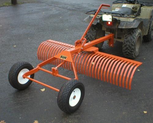 York Rake TA26 - 6' Rake