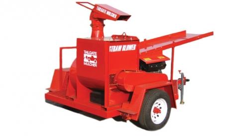TGMI, Inc. Tailgate Mulcher Bale Shredder Model 35
