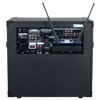 Karaoke Machine with Cordless Mic's