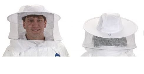 Beekeeping Veil with Built-In Hat