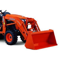 4 WD TRACTOR WITH FRONT LOADER