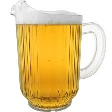 Plastic Drink Pitcher, 60 oz.