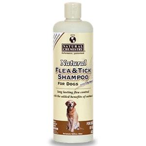 Natural Flea & Tick Shampoo with Oatmeal for Dogs