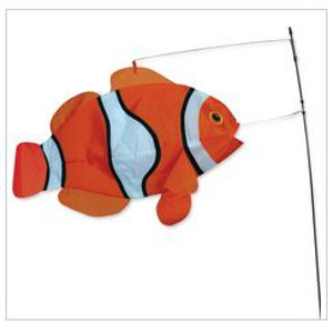 Premier Swimming Clown Fish Flag
