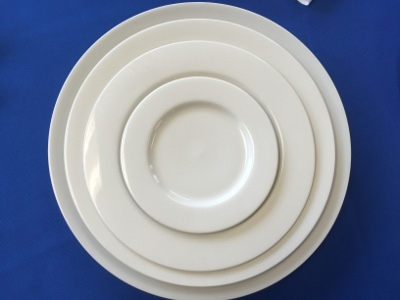 Plain White Dinnerware Collection
