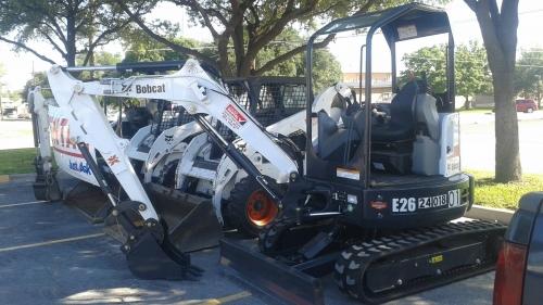 Bobcat Excavator, E26