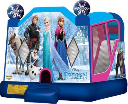 Frozen 4-in-1 Bounce House