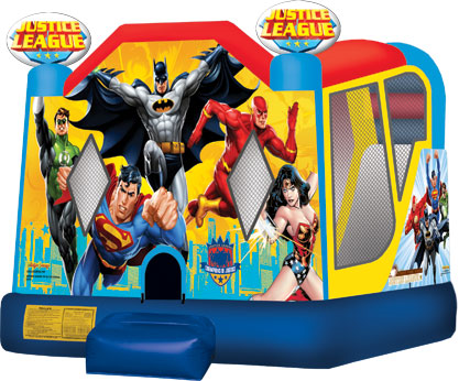 Justice League 4-in-1 Bounce House