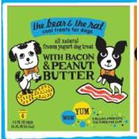 Bacon & Peanut Butter Frozen Yogurt 4pk.