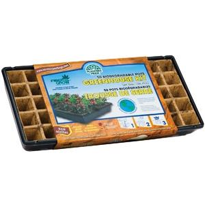 Planters Pride 50 Fiber Coconut Greenhouse Starter Kit
