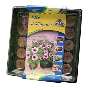 Jiffy® All-In-One 25 Count Mini Greenhouse
