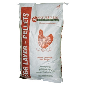 Natures Best Organic Egg Layer Pellets