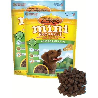 Zuke's Mini Naturals Delicious Duck Dog Treats