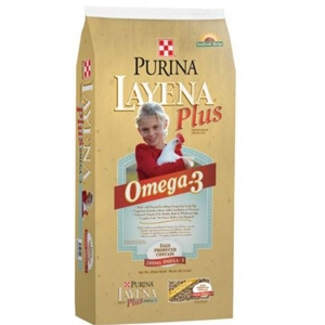 Purina® Layena® Plus Omega-3 SunFresh® Recipe Poultry Feed