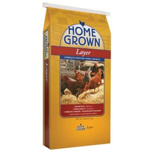 Home Grown 16% Layer Crumble for Poultry 50#