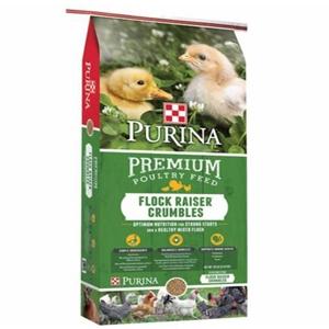 Premium Poultry Flock Raiser Crumbles 20% 50#