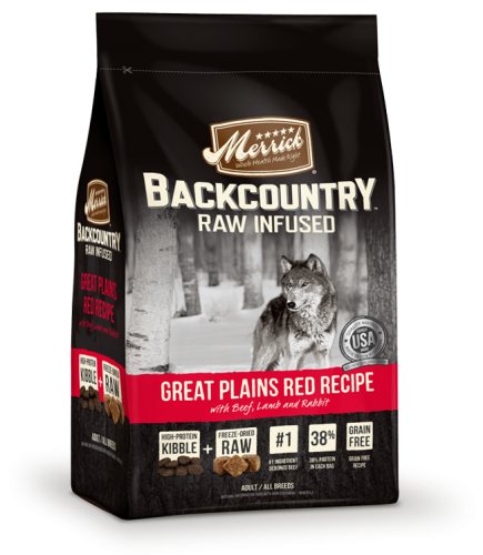 Merrick Backcountry - Raw Infused - Great Plains Red Meat Recipe