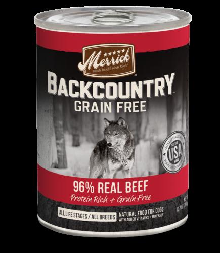 Merrick Backcountry - 96% Real Beef