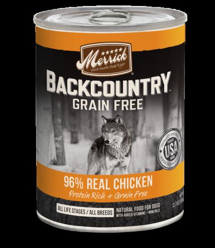 Merrick Backcountry - 96% Real Chicken